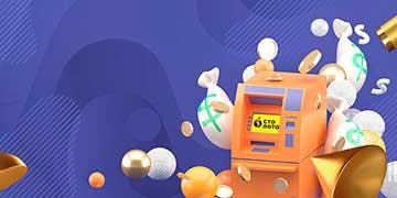 Получить выигрыш в лотереях от Столото